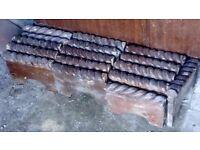 Reclaimed Victorian Rope Top Edging Tiles