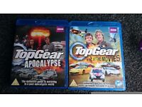 2 x Top Gear Blu Rays --- Both are in excellent condition, £4 Collection From Melton Mowbray