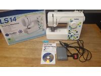 Brother LS14 Sewing Machine with box