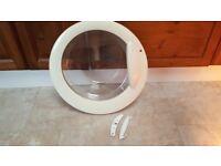 Zanussi Electrolux Washer Dryer Door Model: WJD 1667 W