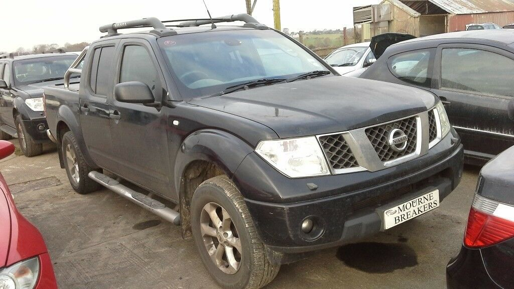 **FOR BREAKING** 2007 Nissan Navara Outlaw 2.5 diesel.