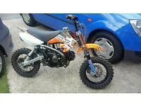 110cc pit bike genuine thumpstar