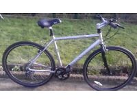 MENS GENTS ADULTS DAWES DISCOVERY 301 700C HYBRID TYRE 21&; FRAME 24 SPEED ALUMINIUM BIKE BICYCLE