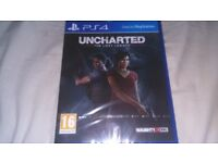 Uncharted The Lost Legacy PS4 Brand New Sealed Collect Only