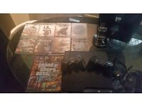 Ps3 n 8 games 2 pads