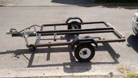 Motorbike trailer, (modified) open to offers.