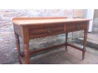 Oak Side table / sideboard