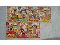 Vintage Arsenal Magazines