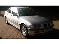 BMW 320i SE AUTOMATIC 2001 51 REG MET SILVER 4 DOOR SALOON PAS A/C 129K MILES - 07826 336 398