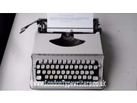 1970's Working Imperial 200n Typewriter - New Ribbon, Case - London Typewriters