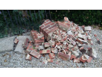 Brick Rubble Free to Collect