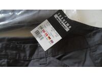 NEW - Tranemo Workwear Light Comfort Grey Cargo Pants Trousers - size 44-46