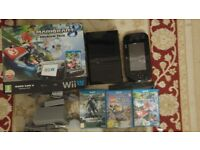 Wii U Premium Pack 32GB Boxed As New + 3 Best Games BARGAIN
