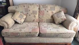 3&2 Seater fabric sofa