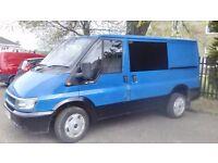 FORD Transit T260 Panel Van, MOT May,