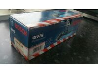"""BRAND NEW BOXED BOSCH GWS 6-115 110v Angle grinder 4.1/2"""" (115mm)"""