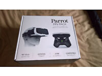 BRAND NEW SEALED BOX GENUINE PARROT BEBOP 2 FPV PACK! FPV GOGGLES/GLASSES AND SKYCONTROLLER 2! for sale  Dorset