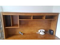 Wooden office desk with chair needs to go ASAP