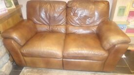 Leather Electric Recliner 2 and 3 seater sofas- OFFERS