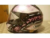 Ladies Shoei helmet size XS