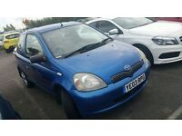 Toyota yaris 998cc 11 months mother 3 doors ideal first car ready to go £490