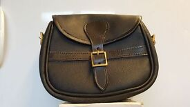 New & unsued Garlands Leather Cartridge bag (still in clear plastic bag/wallet)
