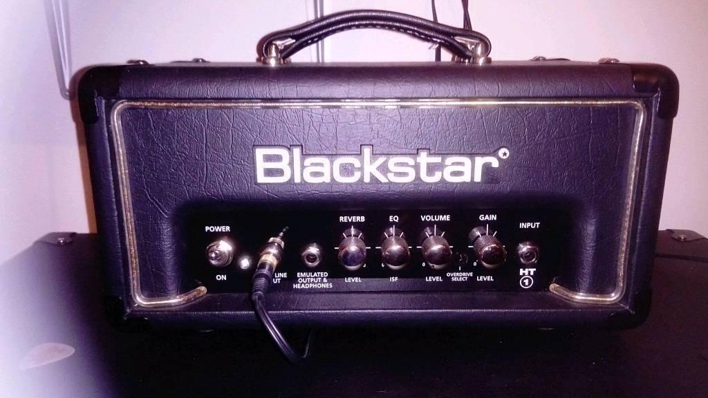 Blackstar ht1r head n blackstar ht dual pedal