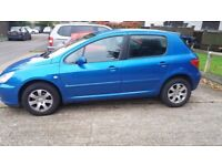 Peugeot 307 1.6 16v VERY LOW MILEAGE at 30,000