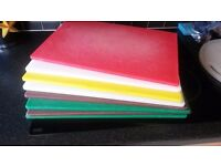 HEAVY DUTY Commercial Kitchen USED Chopping Boards (£3 Each or £15 Job Lot)