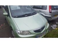 Mazda premacy moted and still taxed