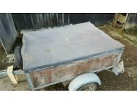 Trailer car trailer