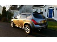 Part ex / swap - Nissan Murano 4x4 Auto - only 78k - fsh - FINANCE AVAILABLE