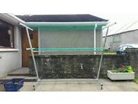 Galvanised Portable Clothes Line