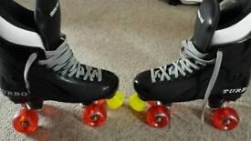 Quad roller skates size 7