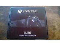 Xbox One 1tb Elite Console & Elite Controller Inc. Game.