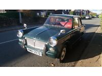 1966 triumph herald mot till end of march