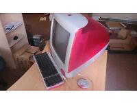 "Apple iMac RED G3 15"" Desktop All-In-One"
