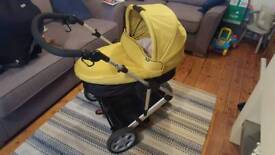 Mamas and Papas Zoom Pushchair and car seat (travel system)