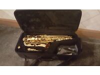 Juipiter Alto Saxophone 500 Series, with backpack Hardcase and beginner tutorial booklet