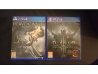 Diablo III Reaper Of Souls Ultimate Evil Edition Final Fantasy XIV Playstation 4 Games PS4 Cheap