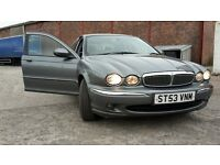 Jaguar x type diesel 92k in good condition 12 months mot