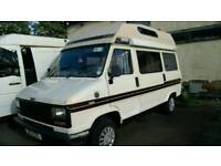 D reg l talbot camper van very tidy will come with 12 months mot