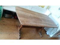 Ercol-style wooden dining table in very good condition