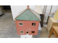 old dolls house with full set of furniture, and effects can deliver