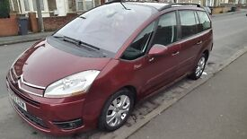C4 grand picasso 1.6 diesel 07 plate