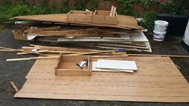 Free to Take Wooden Wardrobe Pieces, Ideal to Be Used for Campfires, Burning etc...