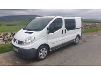 2012 Renault Trafic SWB Campervan,74k, Brand new professional conversion. Similar to VW, but better!