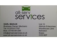 Vehicle Maintenance, Repairs and Diagnostics