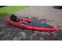 Feel Free Moken 12.5 Kayak with paddle and trolley