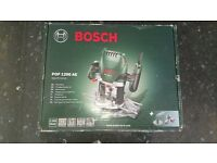 Bosch POF1200 Router with additional bit set, all un-used